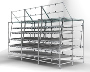 customised gravity racking